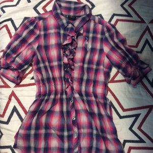 Girl Baby Phat buttoned shirt